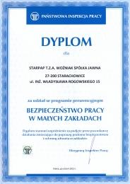 PIP certyfikat zdj kolor